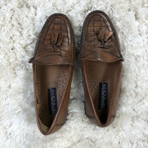 Giorgio Brutini Sz 6 Le Glove Men Leather Loafers